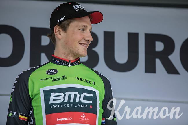 Stage winner Stefan Küng (SUI/BMC) is also the new leader in the GC. <br /> <br /> Binckbank Tour 2017 (UCI World Tour)<br /> Stage 2: ITT Voorburg (NL) 9km