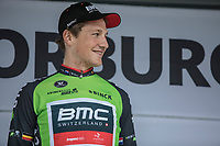 Stage winner Stefan K&uuml;ng (SUI/BMC) is also the new leader in the GC. <br /> <br /> Binckbank Tour 2017 (UCI World Tour)<br /> Stage 2: ITT Voorburg (NL) 9km