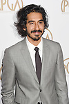 HOLLYWOOD, CA - JANUARY 28: Actor Dev Patel arrives at the 28th Annual Producers Guild Awards at The Beverly Hilton Hotel on January 28, 2017 in Beverly Hills, California.
