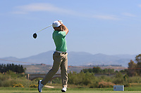 Trevor Fisher Jnr (RSA) on the 2nd tee during Round 3 of the Rocco Forte Sicilian Open 2018 played at Verdura Resort, Agrigento, Sicily, Italy on Saturday 12th May 2018.<br /> Picture:  Thos Caffrey / www.golffile.ie<br /> <br /> All photo usage must carry mandatory copyright credit (&copy; Golffile   Thos Caffrey)