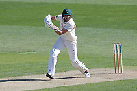 Stuart Broad in batting action for Notts during Essex CCC vs Nottinghamshire CCC, Specsavers County Championship Division 1 Cricket at The Cloudfm County Ground on 14th May 2019