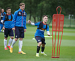 Barrie McKay and Marius Zaliukas