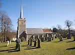 Parish church of Saint Peter at the village of Yoxford, Suffolk, England
