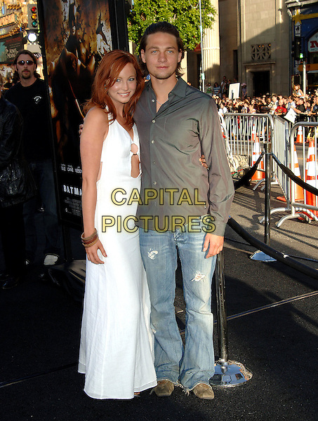 """6 June 2005 - Hollywood, CA -  """"Batman Begins"""" Los Angeles Premiere held at Grauman's Chinese Theatre.Photo credit: Jacqui Wong/AdMedia. ..Photo credit: Jacqui Wong/AdMedia.www.capitalpictures.com.sales@capitalpictures.com.© Capital Pictures."""