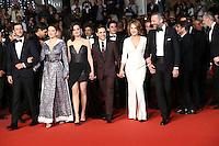 XAVIER DOLAN LEA SEYDOUX NATHALIE BAYE VINCENT CASSEL GASPARD ULLIEL MARION COTILLARD<br /> MONTEE DES MARCHES DU FILM JUSTE LA FIN DU MONDE<br /> RED CARPET OF THE MOVIE<br /> JUSTE LA FIN DU MONDE<br /> 69 EME FESTIVAL DE CANNES