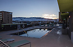 The Sky pool and sun deck during the 3rd Street Flats Grand Opening tour in downtown Reno on Jan. 24, 2017.