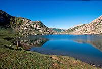 Enol-See, Picos de Europa, Asturien, Spanien