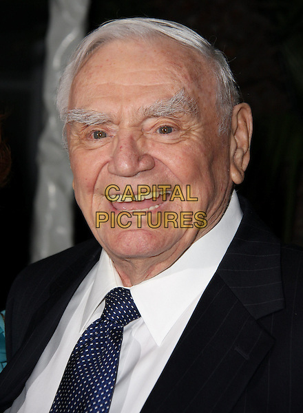 ERNEST BORGNINE.QVC Red Carpet Style held at The Four Seasons Hotel, Beverly Hills, CA, USA..March 5th, 2010.headshot portait black blue white .CAP/ADM/CH.©Charles Harris/AdMedia/Capital Pictures