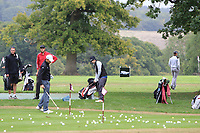Neil O'Briain (IRL) practicing during the Pro-Am of the Bridgestone Challenge 2017 at the Luton Hoo Hotel Golf &amp; Spa, Luton, Bedfordshire, England. 06/09/2017<br /> Picture: Golffile | Thos Caffrey<br /> <br /> <br /> All photo usage must carry mandatory copyright credit     (&copy; Golffile | Thos Caffrey)