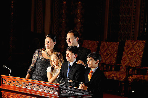 Central Synagogue.Bar Mitzvah.Family Portraits