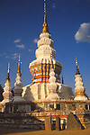 China, a Dai Temple in Xishuangbanna Dai Autonomous Prefecture, Yunnan Province
