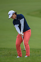 Nasa Hataoka (JPN) chips on to 2 during the round 2 of the KPMG Women's PGA Championship, Hazeltine National, Chaska, Minnesota, USA. 6/21/2019.<br /> Picture: Golffile | Ken Murray<br /> <br /> <br /> All photo usage must carry mandatory copyright credit (© Golffile | Ken Murray)