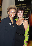 """All My Children Leslie Uggans """"Rose Keefer"""" and As The World Turns Colleen Zenk - The 68th Annual Theatre World Awards 2012 presented to 12 actors for their Outstanding Broadway or Off-Broadway Debut Performances during the 2011-2012 theatrical season on June 5, 2012 at the Belasco Theatre, New York City, New York."""