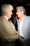 """SANTA MONICA -FEB 11: Hal Holbrook, Frank Ferrante at """"Hal Holbrook in Mark Twain TONIGHT!,"""" a benefit for The Actors Fund, at The Broad Stage on February 11, 2016 in  Santa Monica, California"""