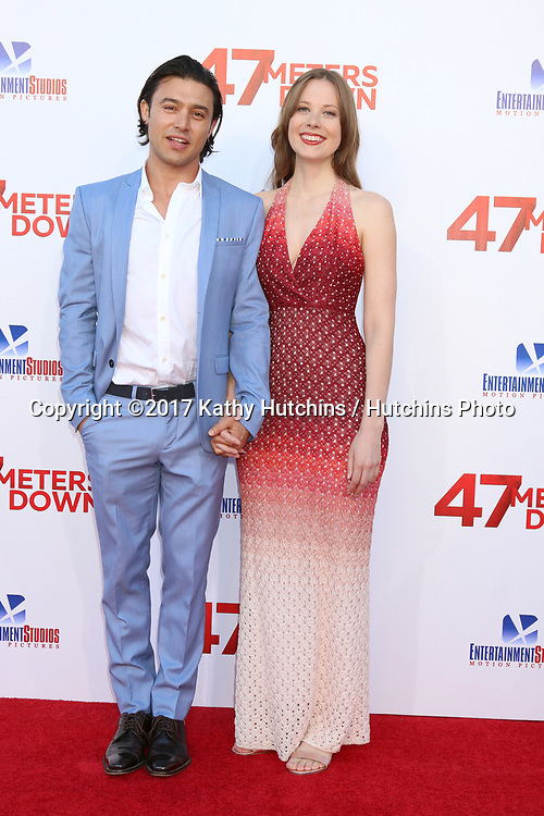 "LOS ANGELES - JUN 12:  Yani Gellman, Guest at the ""47 Meters Down"" Premiere at the Village Theater on June 12, 2017 in Westwood, CA"