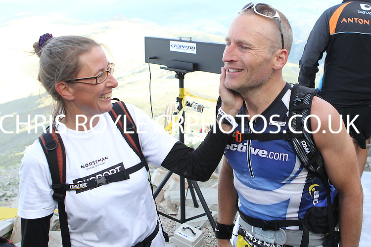 Race number 177 - Lars Ronning - Norseman Xtreme Tri 2012 - Norway - photo by chris royle/ boxingheaven@gmail.com