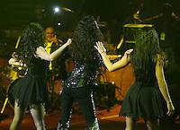 Edith Marquez durante su concierto en el palenque de la Feria de Leon Guanajuato el 16 de Enero del 2014..<br /> (*Foto:TiradorTercero/NortePhoto*)