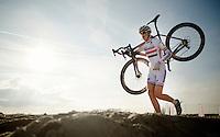 Helen Wyman (GBR/Kona)<br /> <br /> Jaarmarktcross Niel 2014