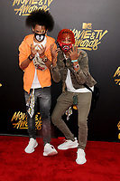 Ayo &amp; Teo at the 2017 MTV Movie &amp; TV Awards at the Shrine Auditorium, Los Angeles, USA 07 May  2017<br /> Picture: Paul Smith/Featureflash/SilverHub 0208 004 5359 sales@silverhubmedia.com