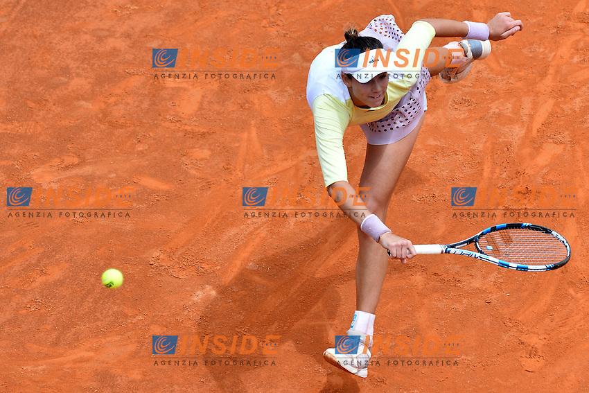 Garbine Muguruza (ESP)<br /> Roma 13-05-2016  Foro Italico<br /> Internazionali BNL d'Italia, <br /> Tennis WTA<br /> Foto Antonietta Baldassarre / Insidefoto