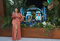 LOS ANGELES, CA - JUNE 12: Tamera Mowry-Housley, Aden Housley, at Jurassic World: Fallen Kingdom Premiere at Walt Disney Concert Hall, Los Angeles Music Center in Los Angeles, California on June 12, 2018. Credit: Faye Sadou/MediaPunch