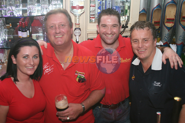 at the World Darts Exhibition in Shooters...Photo NEWSFILE/Jenny Matthews.(Photo credit should read Jenny Matthews/NEWSFILE)....This Picture has been sent you under the condtions enclosed by:.Newsfile Ltd..The Studio,.Millmount Abbey,.Drogheda,.Co Meath..Ireland..Tel: +353(0)41-9871240.Fax: +353(0)41-9871260.GSM: +353(0)86-2500958.email: pictures@newsfile.ie.www.newsfile.ie.FTP: 193.120.102.198.