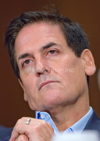 """Mark Cuban, Chairman, AXS TV, Owner<br /> Dallas Mavericks, Landmark Theatres, and Magnolia Pictures appears before the United States Senate Committee on the Judiciary Subcommittee on Antitrust, Competition Policy & Consumer Rights to give testimony during the hearing """"Examining the Competitive Impact of the AT&T-Time Warner Transaction"""" on Capitol Hill in Washington, DC on Wednesday, December 7, 2016.<br /> Credit: Ron Sachs / CNP /MediaPunch"""