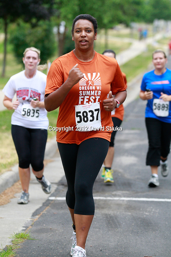 2012 Oregon Summer Fest 5K/10K run on Sunday, June 24, 2012 in Oregon, Wisconsin. (Photo by David Stluka)