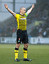 CELTIC'S SCOTT BROWN CELEBRATES AFTER HE SCORED THE SECOND