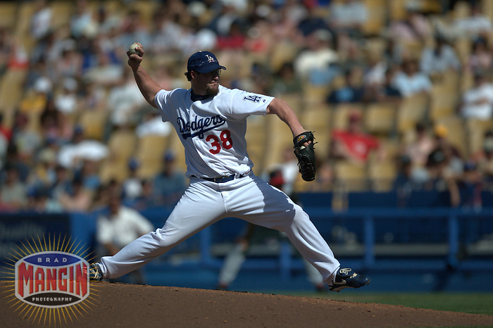 Eric Gagne. Cincinnati Reds vs Los Angeles Dodgers. Los Angeles, CA 5/16/2004 MANDATORY CREDIT: Brad Mangin