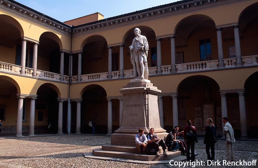 Italien, Lombardei, in der Universität von Pavia