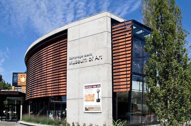 Bainbridge Island Art Museum, Bainbridge Island, Washington State,