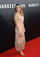 Caggie Dunlop at the premiere for &quot;Darkest Hour&quot; at the Samuel Goldwyn Theatre at The Motion Picture Academy. Beverly Hills, USA 08 November  2017<br /> Picture: Paul Smith/Featureflash/SilverHub 0208 004 5359 sales@silverhubmedia.com