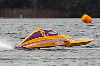 12, 2.5 Litre Stock class hydroplane.Syracuse Hydrofest, Onondaga Lake, Syracuse, NY.20/21 June, 2009, Dayton, OH USA..©F. Peirce Williams 2009 USA.F.Peirce Williams.photography.ref: RAW (.NEF) File Available