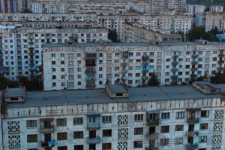 Soviet-era housing in Tbilisi.