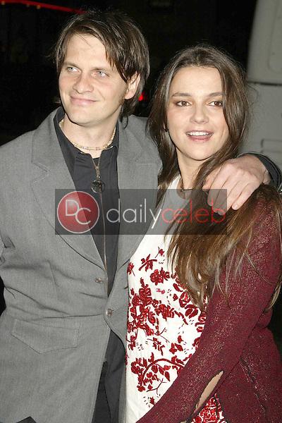 Director Katja von Garnier and husband