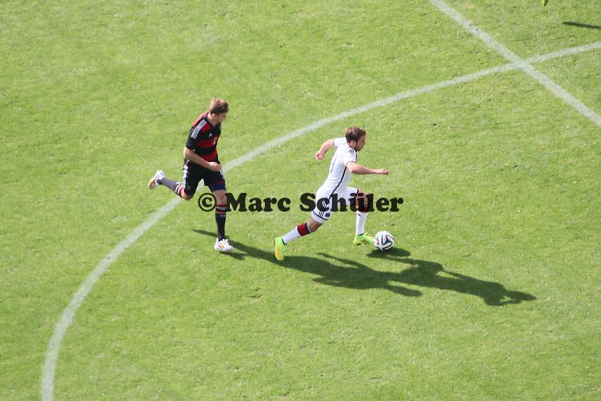 Mario Götze - Testspiel der Deutschen Nationalmannschaft gegen die U20 im Rahmen der WM-Vorbereitung in St. Martin
