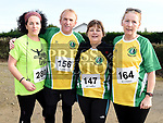 Karen Clarke, Tom Kerins, Shauna McDonnell and Eilish Byrne who took part in the Annagassan 10K. Photo:Colin Bell/pressphotos.ie