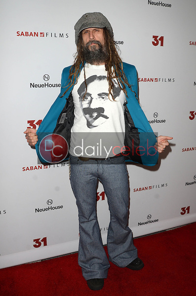 Rob Zombie<br /> at a Special Screening of &ldquo;31,&quot; NeueHouse, Hollywood, CA 10-20-16<br /> David Edwards/DailyCeleb.com 818-249-4998