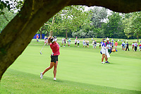 Gerina Piller (USA) watches her approach shot on 10 during Thursday's round 1 of the 2017 KPMG Women's PGA Championship, at Olympia Fields Country Club, Olympia Fields, Illinois. 6/29/2017.<br /> Picture: Golffile | Ken Murray<br /> <br /> <br /> All photo usage must carry mandatory copyright credit (&copy; Golffile | Ken Murray)