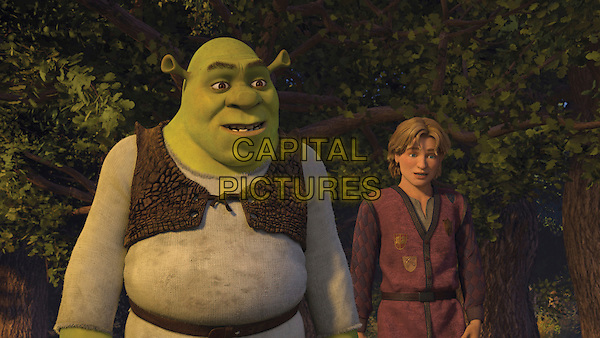 SHREK (MIKE MYERS) & ARTIE (JUSTIN TIMBERLAKE).in Shrek the Third.3 .**Editorial Use Only**.CAP/FB.Supplied by Capital Pictures