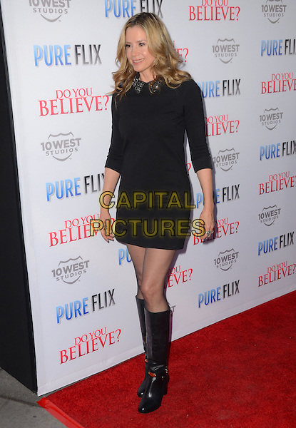 15 March 2015 - Hollywood, California - Mira Sorvino. Arrivals for the Los Angeles premiere of &quot;Do You Believe?&quot; held at ArcLight Hollywood. <br /> CAP/ADM/BT<br /> &copy;BT/ADM/Capital Pictures