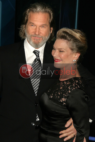Jeff Bridges and wife Susan<br />