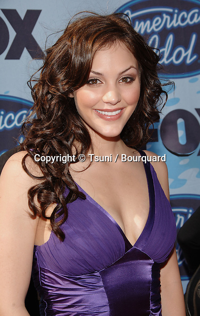 Katharina McPhee  arriving at the Kodak Theatre In Los Angeles. May 24, 2006.