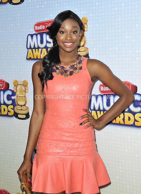 WWW.ACEPIXS.COM....April 27 2013, LA....Coco James arriving at the 2013 Radio Disney Music Awards at the Nokia Theatre L.A. Live on April 27, 2013 in Los Angeles, California...........By Line: Peter West/ACE Pictures......ACE Pictures, Inc...tel: 646 769 0430..Email: info@acepixs.com..www.acepixs.com