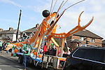 Thos Caffrey with the Clogherhead Prawn Festival Float at the 2011 St.Patrick's Day Parade in Drogheda..(Photo credit should read Jenny Matthews/www.newsfile.ie)....This Picture has been sent you under the conditions enclosed by:.Newsfile Ltd..The Studio,.Millmount Abbey,.Drogheda,.Co Meath..Ireland..Tel: +353(0)41-9871240.Fax: +353(0)41-9871260.GSM: +353(0)86-2500958.email: pictures@newsfile.ie.www.newsfile.ie.