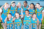 PRESENTATION TRALEE: Having a great time at the National Schools Basketball Blitz at Mercy Mounthawk on Saturday front l-r: Rachael O'Halloran, Victoria Samul, Iren Okumbor and Amy Connolly. Back l-r: Sinead Lynch, Katie Dillon, Claire Dillion, Increase Akinyemi, Filza Riaz and Sarah McMahon.