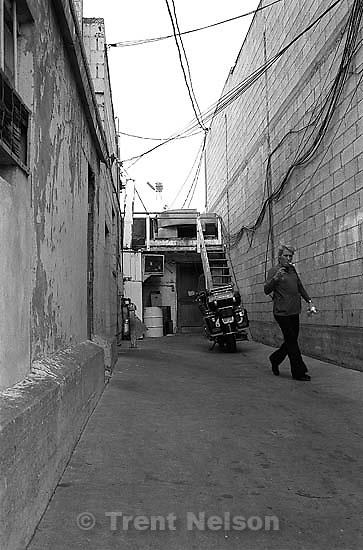 Alleyway, 1987.  &amp;#xA;<br />