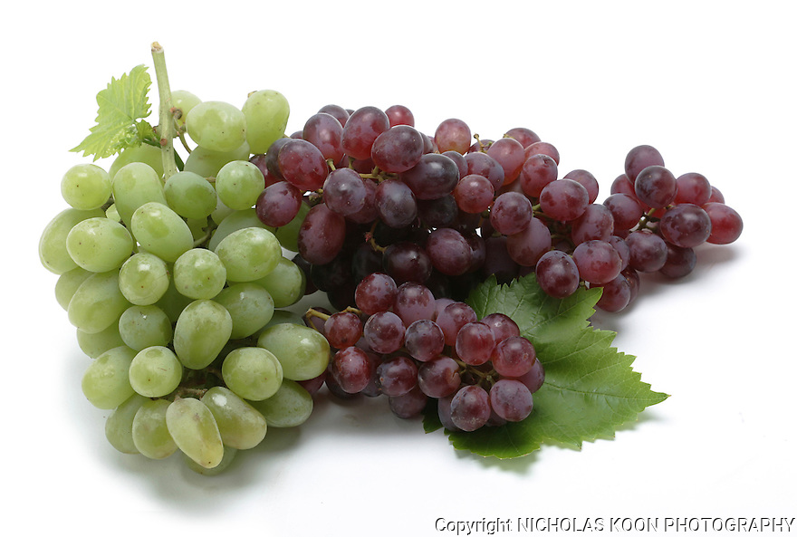 Grapes still life.