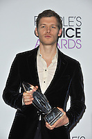 Joseph Morgan in the pressroom at the 2014 People's Choice Awards at the Nokia Theatre, LA Live.<br /> January 8, 2014  Los Angeles, CA<br /> Picture: Paul Smith / Featureflash